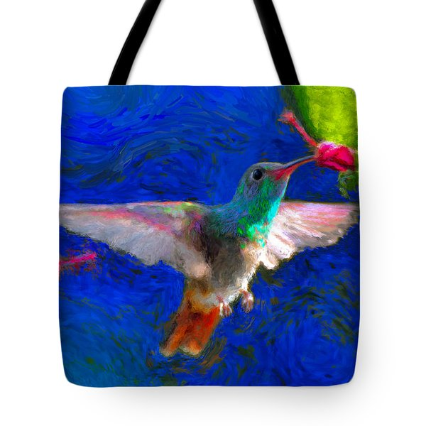 Da052 Turkscap Hummingbird  Tote Bag