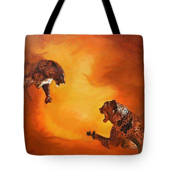 Turmoil Tote Bag by Maris Sherwood