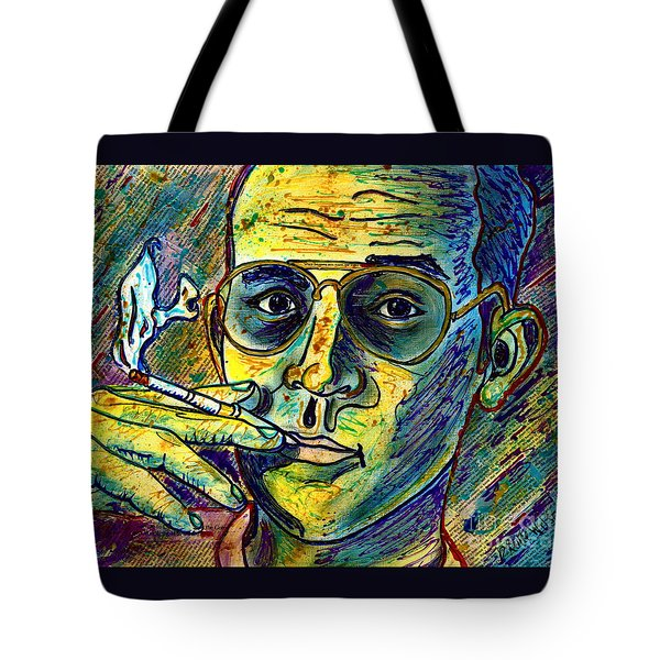 Tote Bag featuring the painting Turn Pro by D Renee Wilson