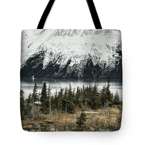 Turnagain Arm  Tote Bag