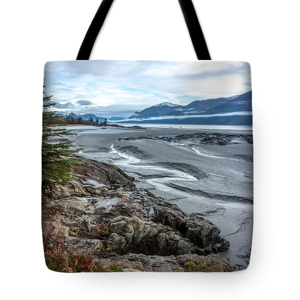 Turnagain Tide Flats Tote Bag