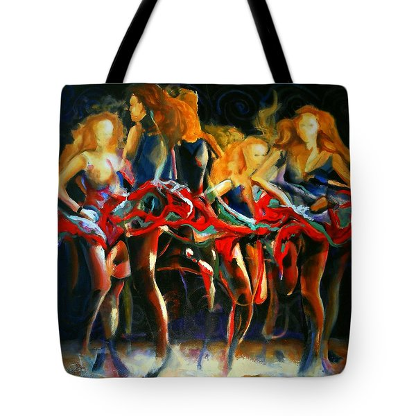 Turning Tote Bag by Georg Douglas