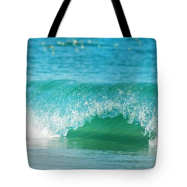 Turquois Waves  Tote Bag