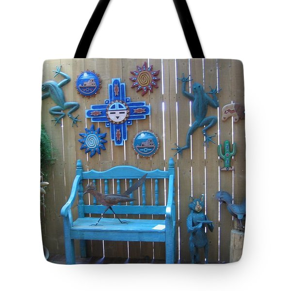 Tote Bag featuring the photograph Turquoise Corner by Dora Sofia Caputo Photographic Art and Design