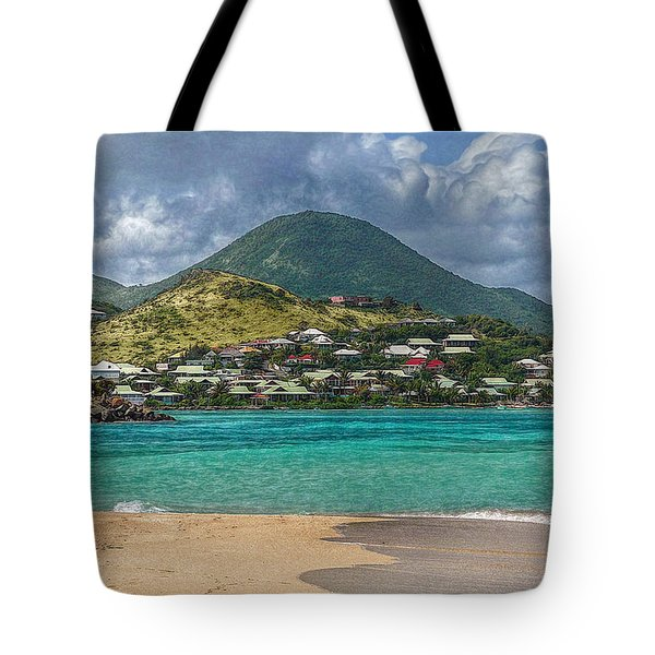 Tote Bag featuring the photograph Turquoise Paradise by Hanny Heim