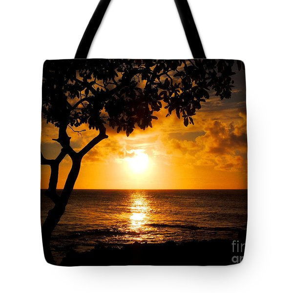 Turtle Bay Sunset Tote Bag