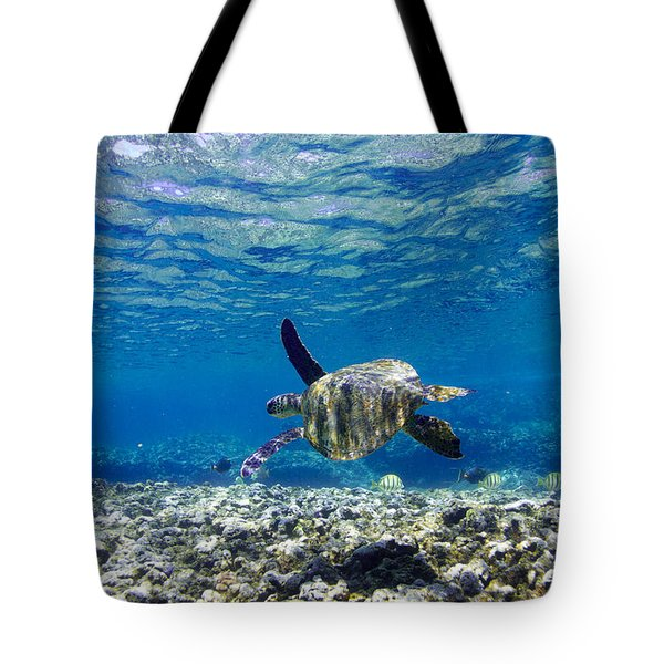 Turtle Cruise Tote Bag