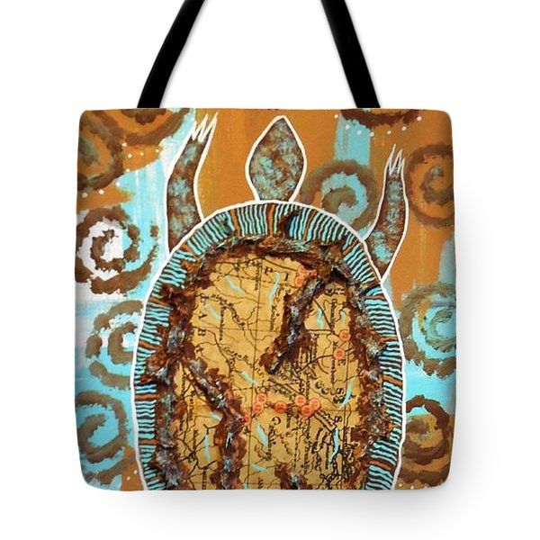 Turtle Journey Tote Bag