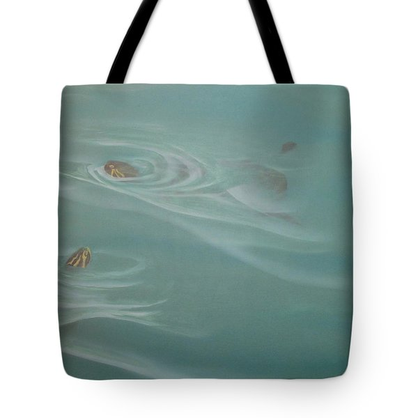 Turtle Pond II Tote Bag