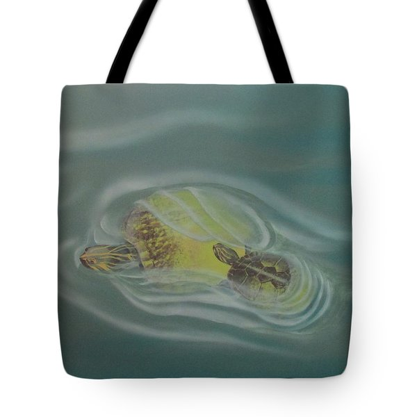 Turtle Pond Iv Tote Bag