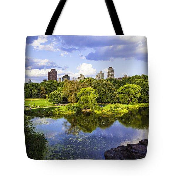 Vista Rock View 2  - Central Park - Manhattan Tote Bag