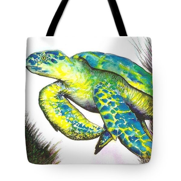 Turtle Wonder Tote Bag