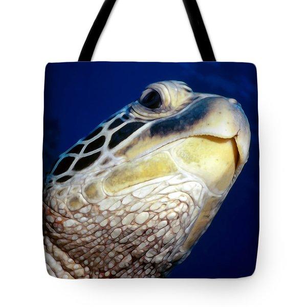 Turtles 1 Tote Bag by Dawn Eshelman