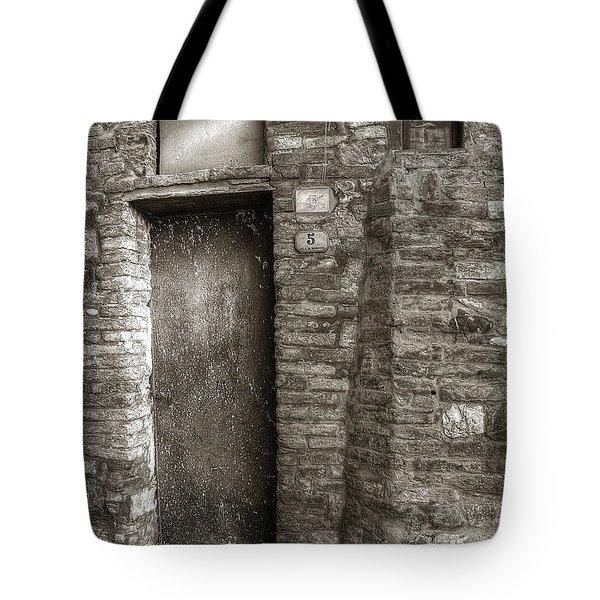 Tuscan Doorway Tote Bag