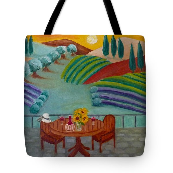 Tuscan Dreams Tote Bag by Victoria Lakes