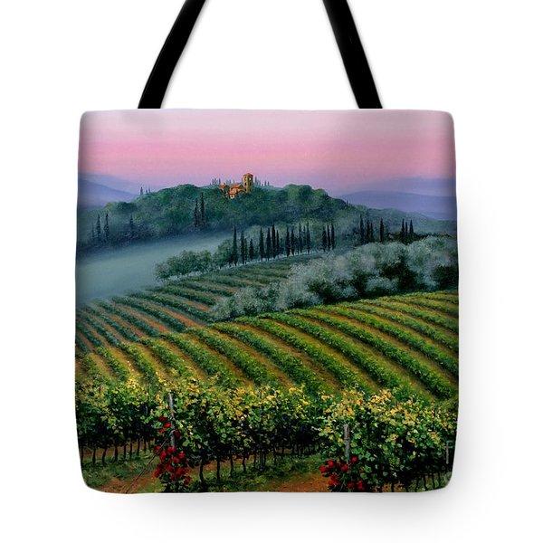 Tuscan Dusk Tote Bag