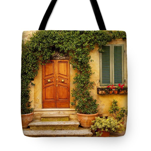 Tuscan Front Door Tote Bag