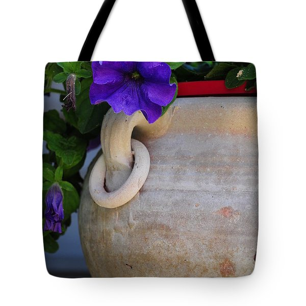 Tote Bag featuring the photograph Tuscan Pot by Susie Rieple