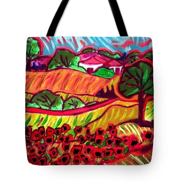 Tuscan Red Tote Bag