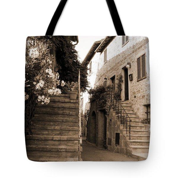 Tuscan Stairways 2 Tote Bag