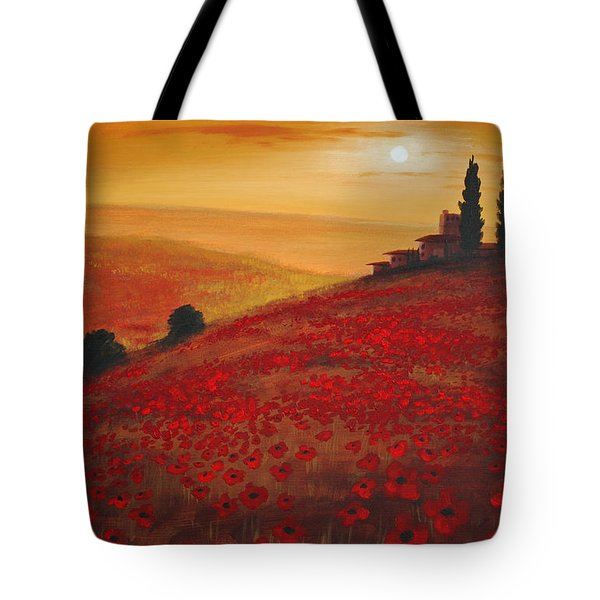 Tuscan Sunset Tote Bag