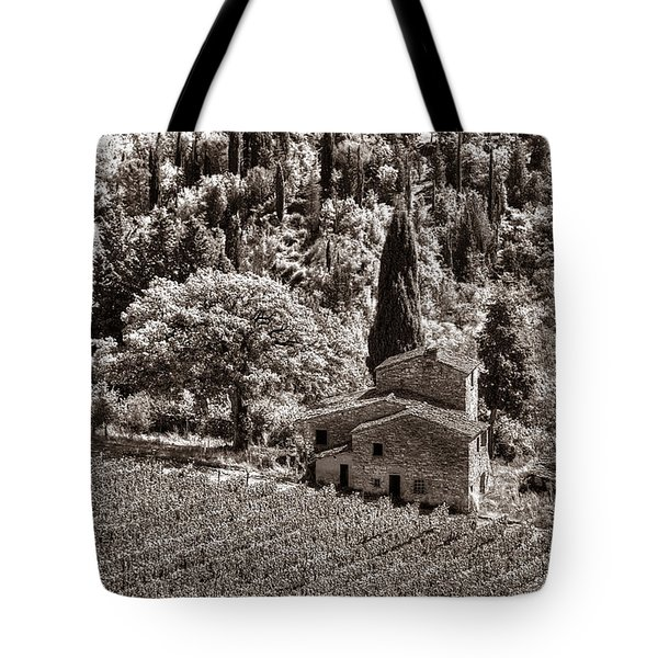 Tuscan Vinyard Tote Bag
