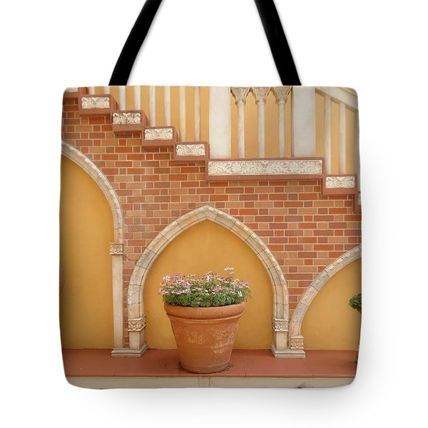 Tuscany Style Welcome Tote Bag by Ann Johndro-Collins