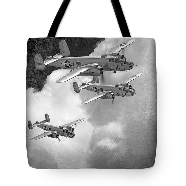 Tuskegee Airman...616th Bombardment Group Tote Bag by Larry McManus