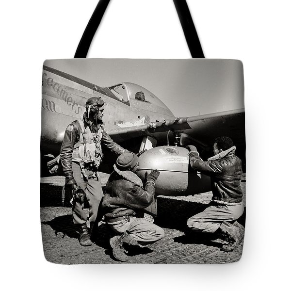 Tuskegee Preflight Tote Bag by Benjamin Yeager