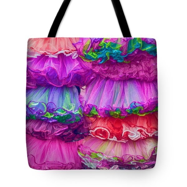 Tutus By The Dozen Tote Bag by Kathleen K Parker