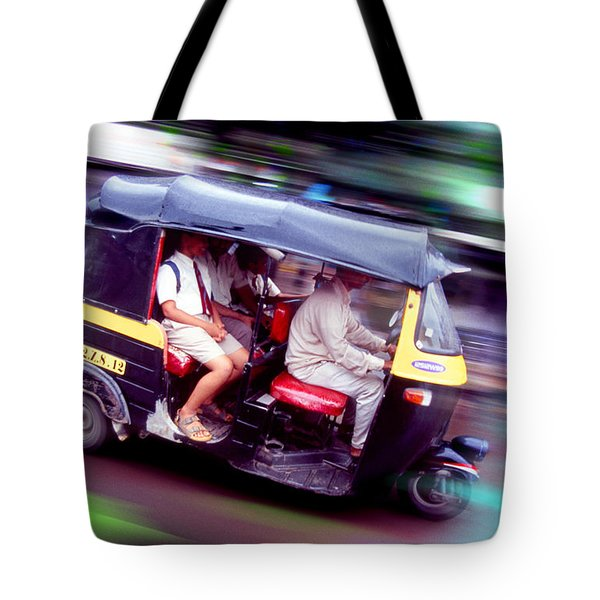 Tote Bag featuring the photograph Tuxi by Richard Piper