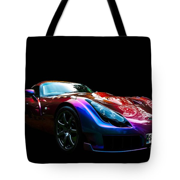 Tote Bag featuring the photograph Tvr Sagaris by Matt Malloy