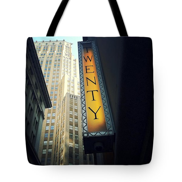 Twenty Tote Bag by Natasha Marco