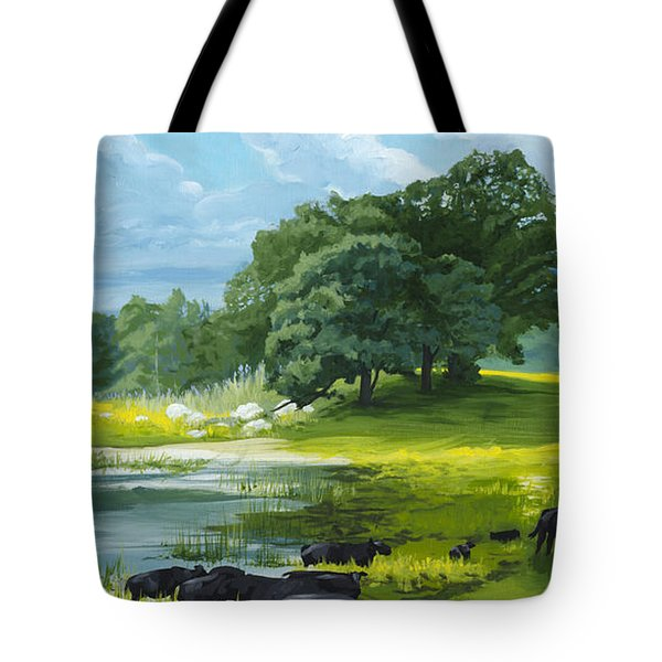Twenty Third Psalm Tote Bag