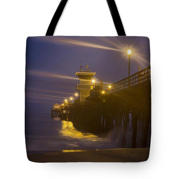 Twilight At Seal Tote Bag