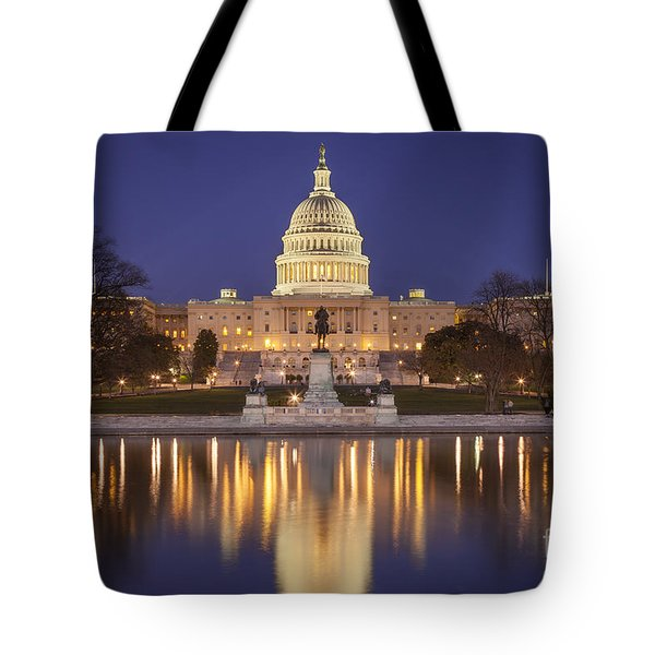 Twilight At Us Capitol Tote Bag