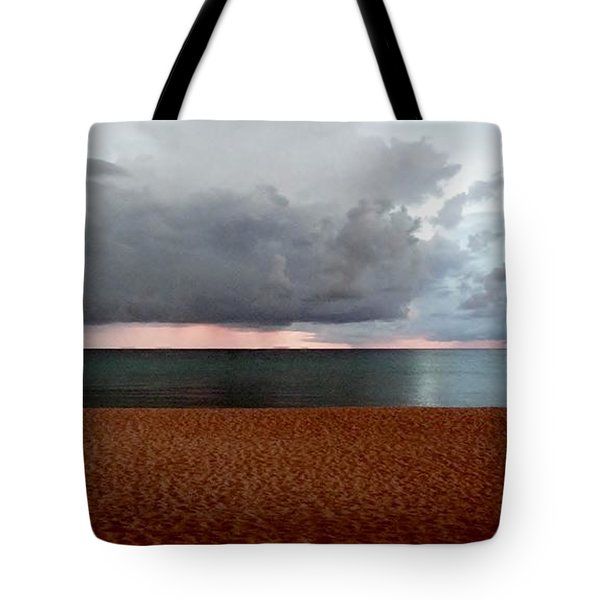 Twilight Chase Tote Bag