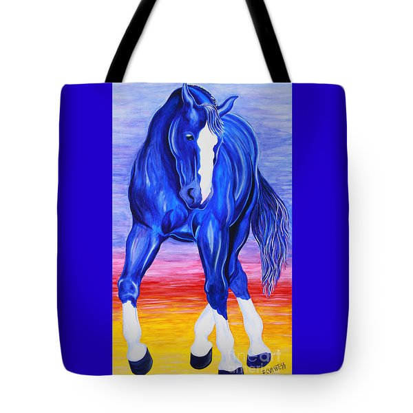 Twilight Dance Tote Bag