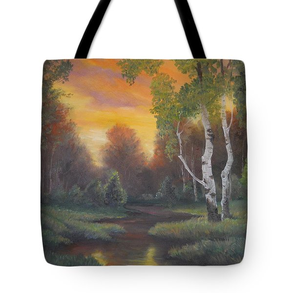 Twilight Fall  Tote Bag
