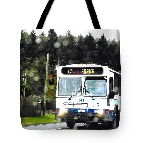 Twilight In Forks Wa 1 Tote Bag by Sadie Reneau