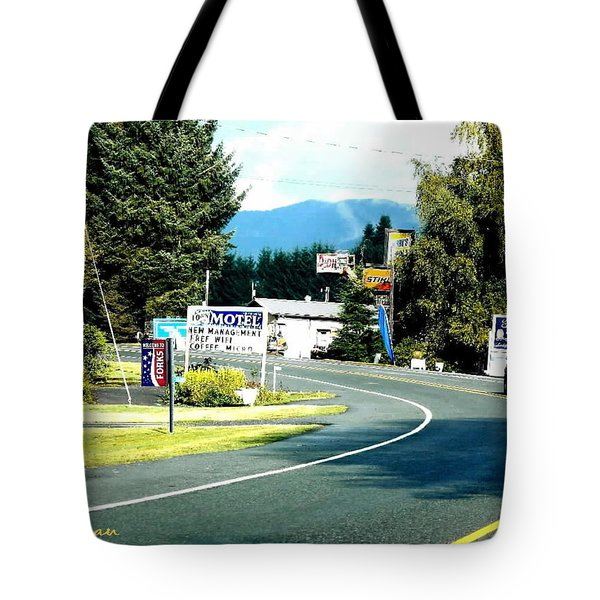 Twilight In Forks Wa 2 Tote Bag by Sadie Reneau