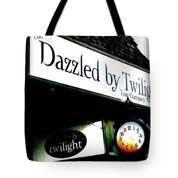 Twilight In Forks Wa 4 Tote Bag by Sadie Reneau