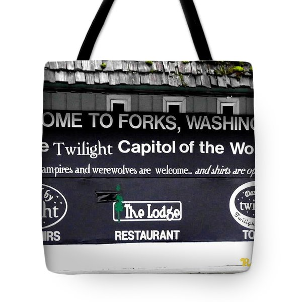 Twilight In Forks Wa 5 Tote Bag by Sadie Reneau