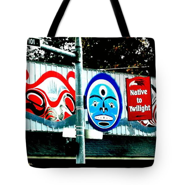 Twilight In Forks Wa 6 Tote Bag