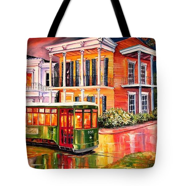 Twilight In The Garden District Tote Bag by Diane Millsap