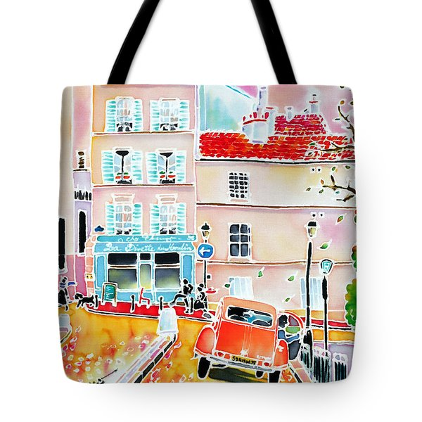 Twilight Montmartre Tote Bag