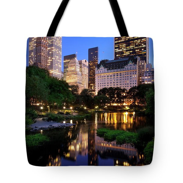 Twilight Nyc Tote Bag by Brian Jannsen