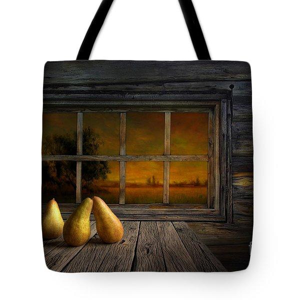 Twilight Of The Evening Tote Bag by Veikko Suikkanen