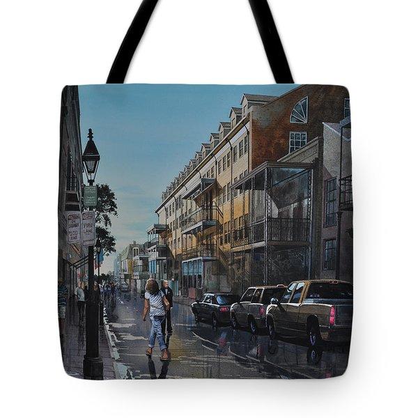 Twilight On Royal Tote Bag