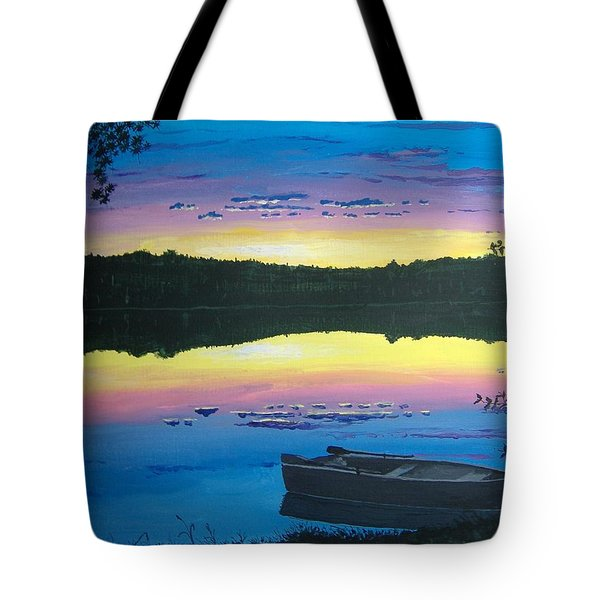 Twilight Quiet Time Tote Bag by Norm Starks